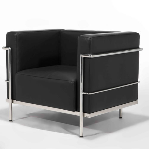 le corbusier lc3 sofa. Black Bedroom Furniture Sets. Home Design Ideas