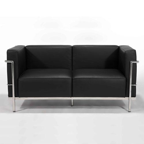 le corbusier lc3 sofa. Black Bedroom Furniture Sets. Home Design Ideas