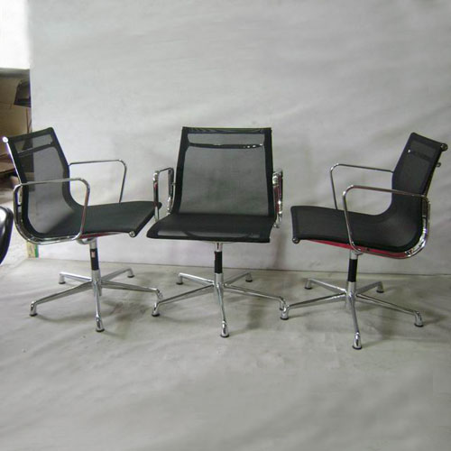 Eames Low Back Aluminum Office Chair-Mesh